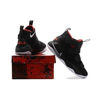 Nike LeBron Soldier 11 Black-Red Basketball