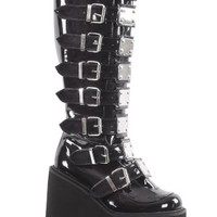 Swing-815 Black Boot Shiny Patent - Tragic Beautiful buy online from Australia