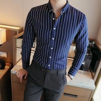 Men's Dress Shirts Comfortable Long Sleeve Shirt