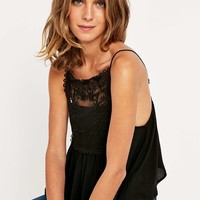 Kimchi Blue Square Lace Cami - Urban Outfitters