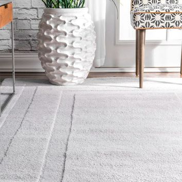nuLOOM Transitional Wool Double Border Handmade Area Rug | Overstock.com Shopping - The Best Deals on Area Rugs
