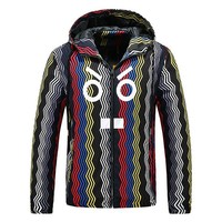 Boys & Men Fendi Cardigan Jacket Coat Windbreaker