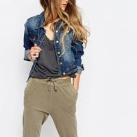 Glamorous Fitted Denim Jacket at asos.com
