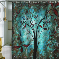 DENY Designs Home Accessories | Madart Inc. Romantic Evening Shower Curtain Sale Item