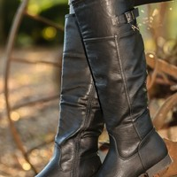 Walk Home Boots-Black