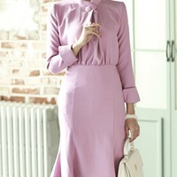 DINT dress 31962 < D2876-neck button feminine Dress < FASHION / CLOTHES < WOMEN < DRESSES/SKIRT < dress