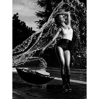 """Rihanna Poster Black and White Poster 16""""x24"""""""