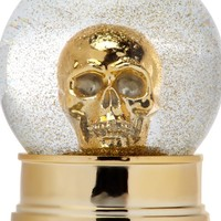 Skull Snow Globe | Objects of Art | Decorative Accessories | Home Accents | Decor | Z Gallerie