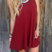 Cupshe Easy Life Solid Color Tank Top