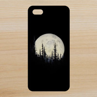 Trees and Moon Art Phone Case iPhone 4 / 4s / 5 / 5s / 5c /6 / 6s /6+ Apple Samsung Galaxy S3 / S4 / S5 / S6