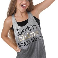 Let's Shine Together Tank Top - Urban Groove