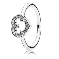 Mickey Mouse Silhouette Ring by PANDORA