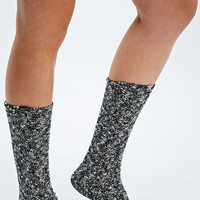 Obey Heather Socks in Black - Urban Outfitters