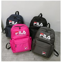 FILA Backpack Canvas Travel Bag