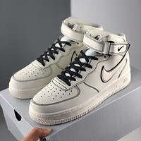 Nike Air Force 1 Fashionable high-top sneakers classic casual sports sneakers