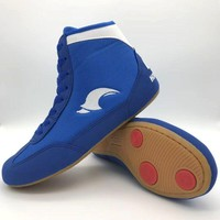 Boxing shoes Wrestling boots Combat Sneakers Professional Gym training fighting gear equipment Plus Size 46  for women Men