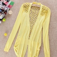 Lightweight Lace Cardigan (multiple colors) from from: Us to: You