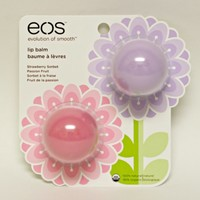 Eos Evolution of Smooth - Lip Balm Sphere 2 Pack Strawberry Sorbet & Passion Fruit Spring Set