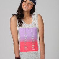 Live Free Muscle Tee