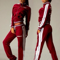 Fitness Outerdoor Sportwear tracksuits sportswear women hoodies sweat 2016 fashion jogging suit for women sweatsuit = 4472609796