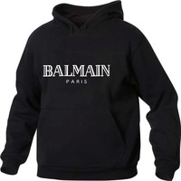 Balmain Paris  Hoodie Sweatshirt Men/Women Autumn Winter Fashion Tracksuit Sweatshirt Women Oversize Sweatshirt