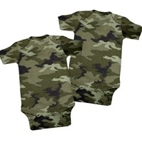 Camouflage One Piece 2 Pack