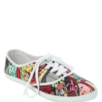 Marvel Heroes Lace-Up Sneakers