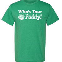 Who's Your Paddy T-shirt | St Patty's Tee