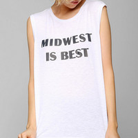Friend Of Mine Midwest Best Muscle Tee - Urban Outfitters