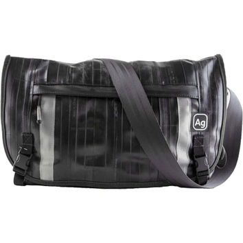 Alchemy Goods Pike Recycled Messenger Bag Black, One