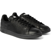Raf Simons - + adidas Stan Smith Distressed Leather Sneakers | MR PORTER