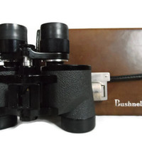 Bushnell Banner Binoculars with case / Zoom 7-15 x 35 / Gift for Him