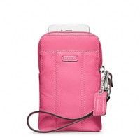 Coach :: Patent Leather Universal Case