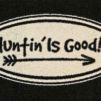 Hunting is Good Accent Rug (29x18)