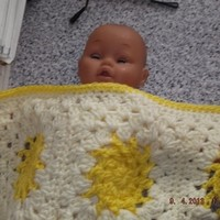 Baby Crochet Blanket and Shawl Cuddle (nannycheryl original) ID 697 cjh1