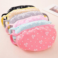 5pcs Korean Woman Girl Lovely Hearth Pattern Face Mouth Mask Windproof Dustproof Earloop Cover Outdoor Sport Cycling
