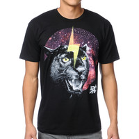 A-Lab Special Cat Black Tee Shirt