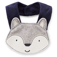 Little Wolf Teething Bib