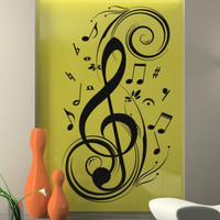 Wall Decal - Music Clef