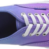 Vans Unisex Authentic Slim (Ombre)Hollyhock Skate Shoes-OmbrePurple-5