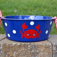 10 Under The Sea Party Favor cups with straw and red top