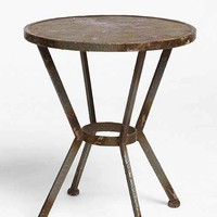 James Metal Side Table- Charcoal One
