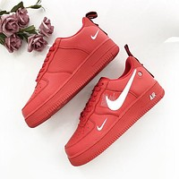 NIKE Force 1 Low AF-1 OW letters full-head low-top shoes-1