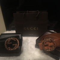 Men's Gucci Leather Belt