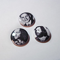 Charles Manson buttons