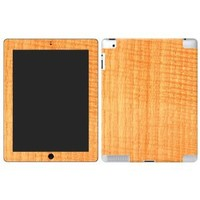 """Fiddleback Chestnut """"Protective Decal Skin"""" for the iPad 2"""