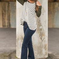 Spice Up Your Life Flare Jeans, Denim