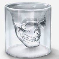 Crystal Skull Shot Glass Cool Cup