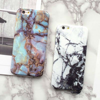 Marble iPhone Case, Multiple Colors