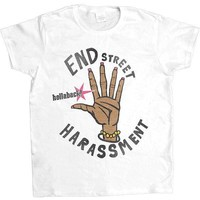 End Street Harassment -- Women's T-Shirt